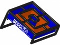 BecoBall – Royal Blue & Orange