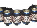 Beer Belt – Leopard Skin
