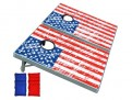 GoPong American Flag Cornhole Boards