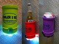 Magnetic Koozie with LED Flashlight