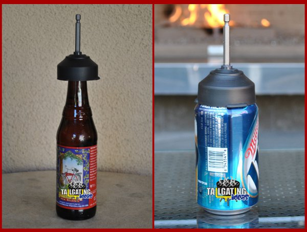 chill bit can and bottle side by side