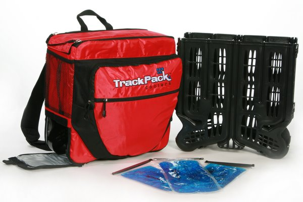 TrackPack Cooler Red