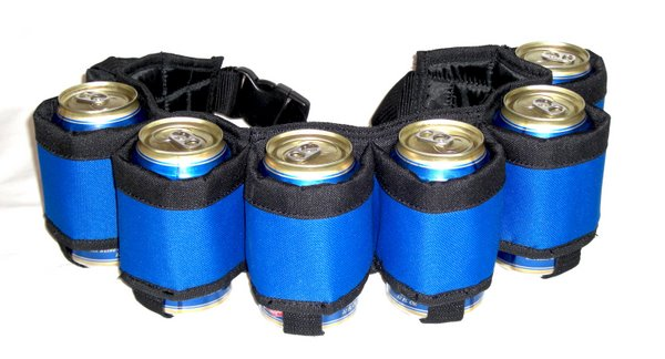 Beer Belt Blue color