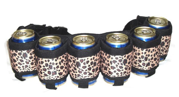 Beer Belt leopard color