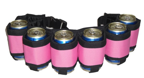Beer Belt Pink color