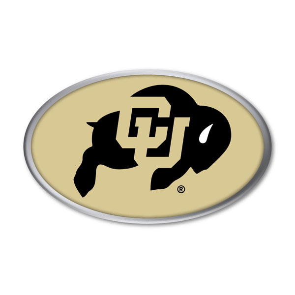 Colorado Buffaloes auto emblem