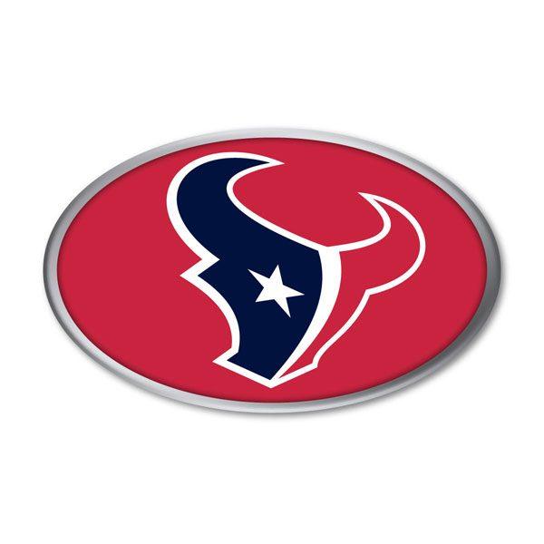 Houston Texans Auto Emblem