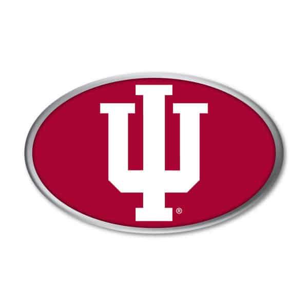 Indiana Hoosiers Auto Emblem