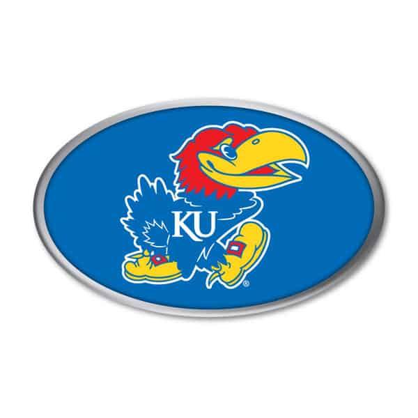 Kansas Jayhawks Auto Emblem