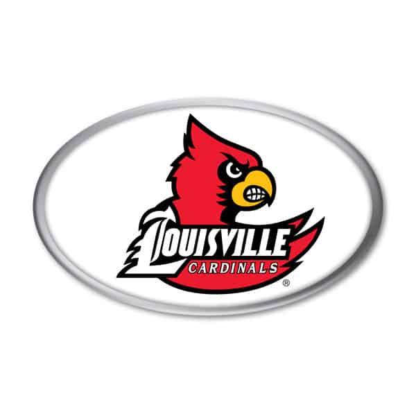 Louisville Cardinals Auto Emblem