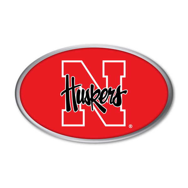 Nebraska Cornhuskers Auto Emblem