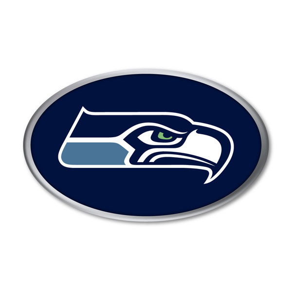 Seattle Seahawks Auto Emblem
