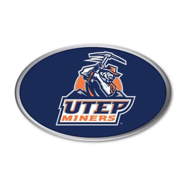 UTEP Auto Emblem
