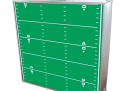GoPong 8 foot Football Field folded