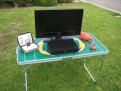 GoPong 4' Football Table