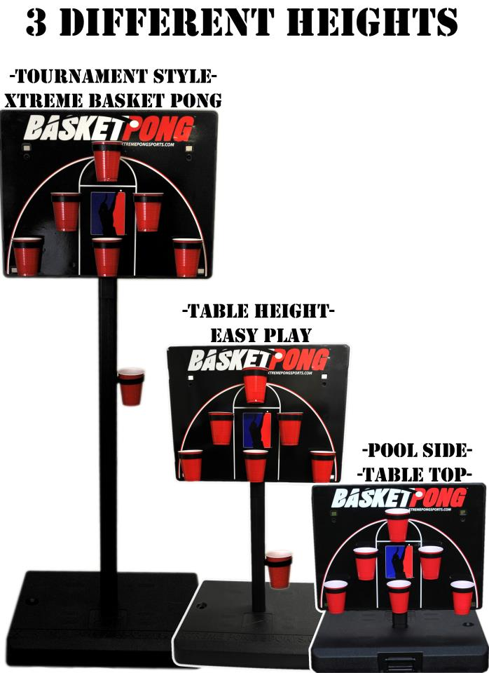BasketPong three ways to play