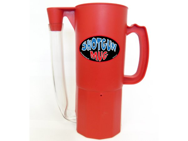 Shotgun Mug Red