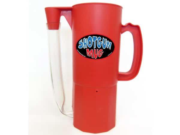 Shotgun Mug Red