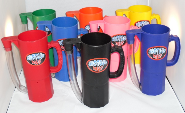 Shotgun Mug Assorted Colors