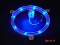 Blue Cornhole Lantern