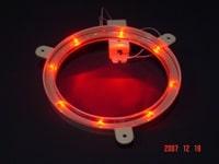 Red Cornhole Lantern