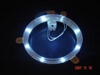 White Cornhole Lantern