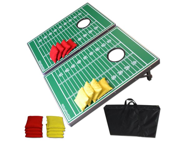 Gopong Football Cornhole Boards Complete set