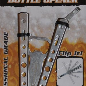 Butterfly Knife Bottle Opener Card
