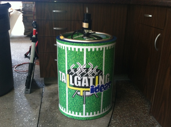 Tailgating ideas Kegster