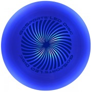 Blue disc turned on