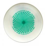 Green disc unlit