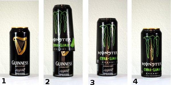Guiness Rockstar Energy