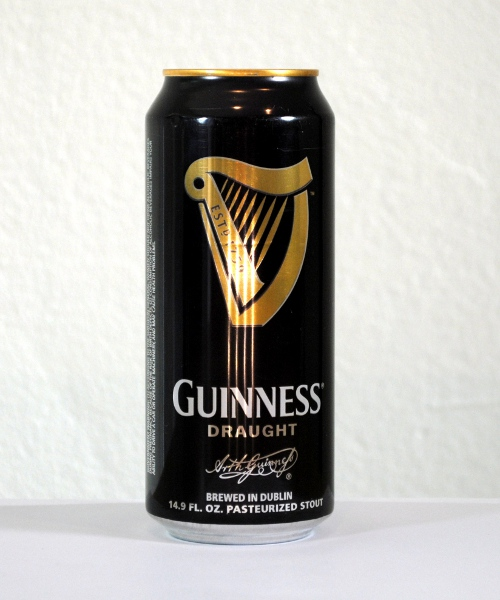 how to drink guinness can