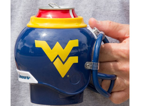 West Virginia Helmet Mug