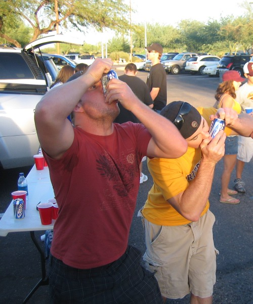 Arizona_State_Shotgunning