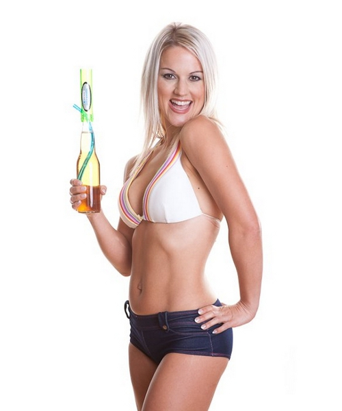 Bottle_Bong_hot_girl