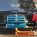 Miami Dolphins custom tailgating grill