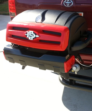 San Diego State custom tailgating grill