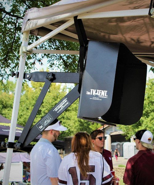 Tailgate Tent TV Bracket mount
