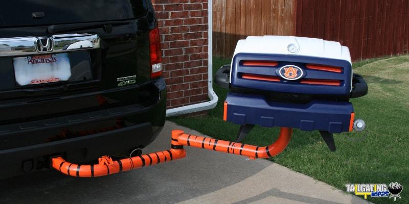 Auburn Tigers tailgating grill