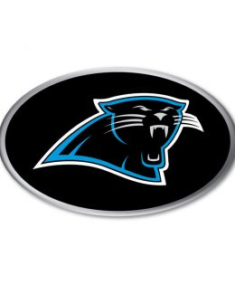 Carolina Panthers Auto Emblem
