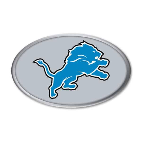Detroit Lions Auto Emblem