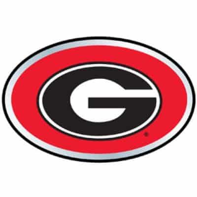 Georgia Bulldogs Color Auto Emblem