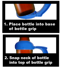 Bottle Grips Instructions