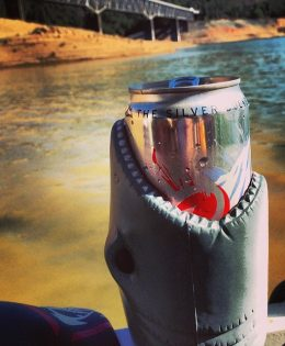 Shark Koozie Coors Light Can