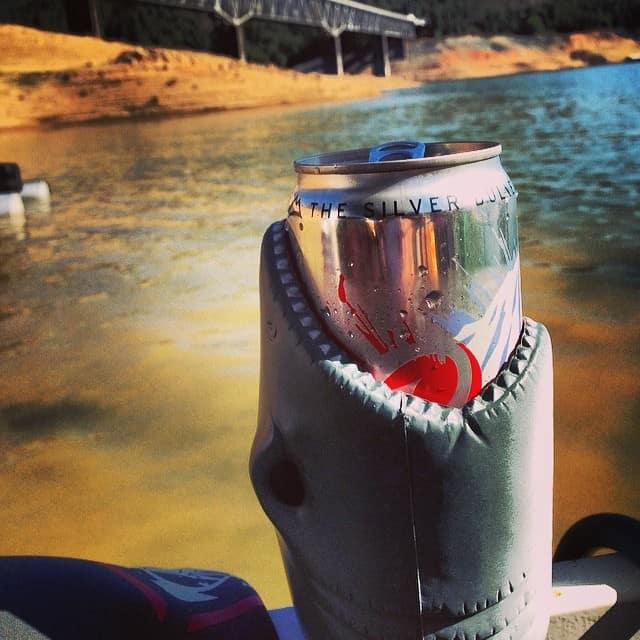 Shark Koozie Coors Light Can