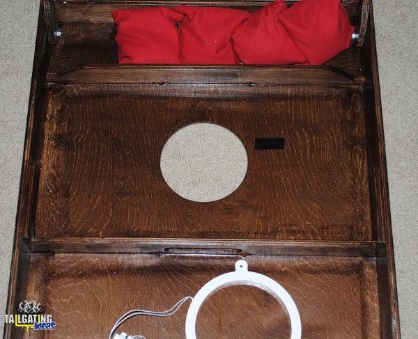 Cornhole Lantern instal