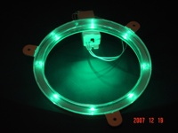 Green Cornhole Lantern