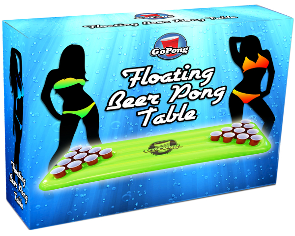 Floating Beer Pong Table Box