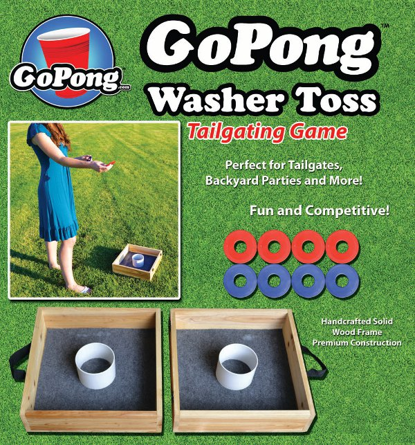 GoPong Washer Toss Front Package